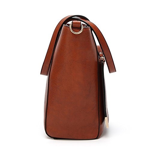 Fourre Sacs Bandoulière Pour Brown Vintage Outgoing À Mode tout Dames Bdstb 0A7Ox0