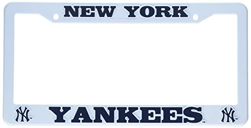 Ny Yankees Plate (Rico Industries F4701 Plastic Auto Frame - New York Yankees)