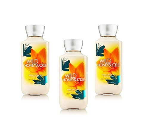 Bath and Body Works Signature Collection Wild Honeysuckle Bo