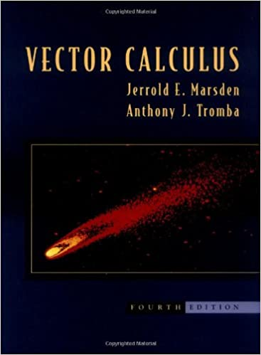 Vector Calculus 4th Edition