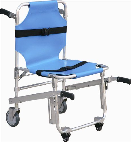 Medical Stair Stretcher Ambulance Wheel Chair New Blue Eq...
