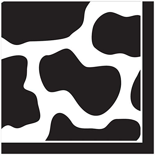Print Lunch Napkins - Cow Print Lunch Napkins (16)