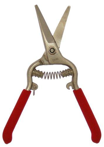 Zenport Z280 Needlenose Shear, Grape, 8-Inch Heavy Duty Forged Steel Curved Blade