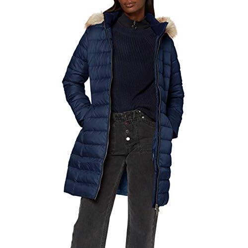 chollos oferta descuentos barato Tommy Hilfiger TJW Essential Hooded Down Coat Chaqueta Azul Marino Twilight Navy M para Mujer