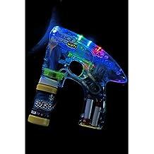 Smiffys Bubble Gun Light Up Includes Pot and Batteries