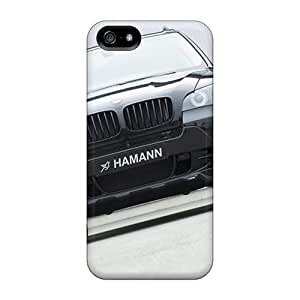 Iphone 5/5s Case Cover - Slim Fit Tpu Protector Shock Absorbent Case (hamann Bmw X5 Front)