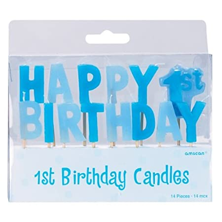 Amscan International para primer cumpleaños de niño mini ...