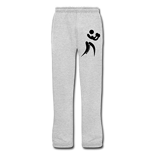 Moebius Scarf (LQYG Boxing Men's Training Sweaterpants Fashion Pants Ash)