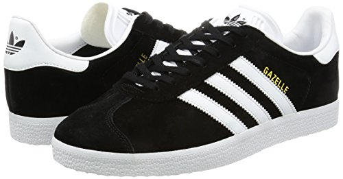 Per Bb5476 gold Sneaker Black Nero Adidas Gazelle Metallic white core Donna 7wnTHxEOqv