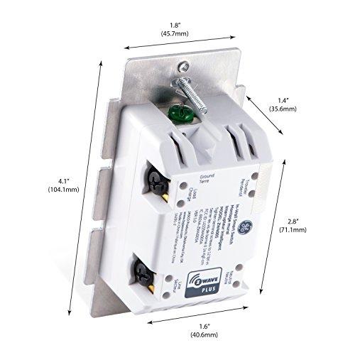 GE Z Wave Plus Wireless Smart Lighting Control Smart