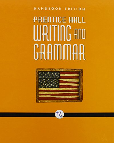 PRENTICE HALL WRITING AND GRAMMAR HANDBOOK GRADE 11 2008C