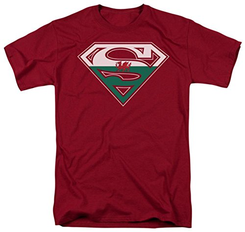 Superman - Welsh Shield T-Shirt Size (Welsh Shield)