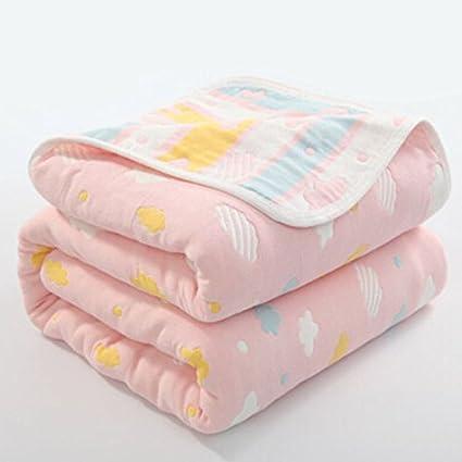Manta de muselina orgánica para bebé, 100% algodón hipoalergénico, manta para bebé,