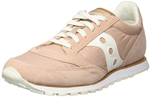 Saucony Jazz Low PRO, Scape per Sport Outdoor Donna Tan/White