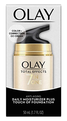9bbf79e51511c Olay Total Effects 7 in One Anti-Aging Moisturizer + Touch of Foundation  Light to