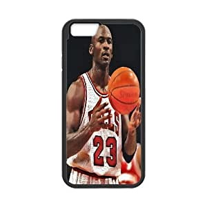 "DIY Michael Jordan Phone Case, DIY Case Cover for iphone6 plus 5.5"" with Michael Jordan (Pattern-4)"