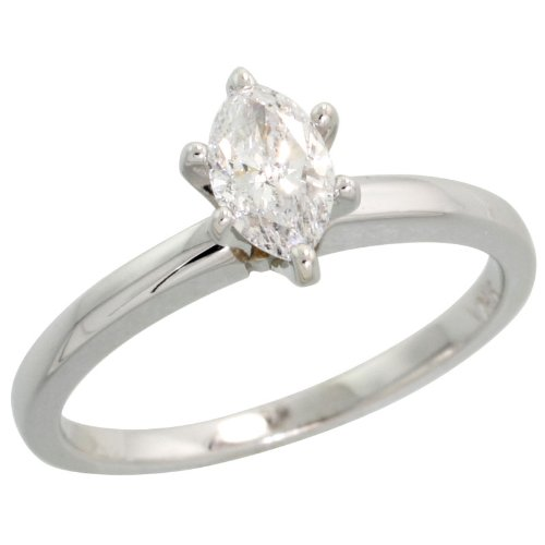 0.45 Ct Marquise Diamond - 9