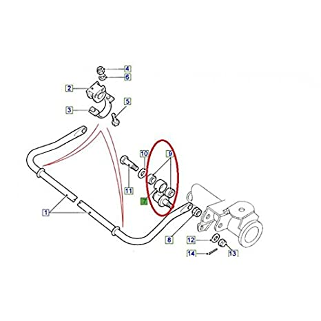 Front Or Rear Anti Roll Bar Ball Joint For Land Rover Defender