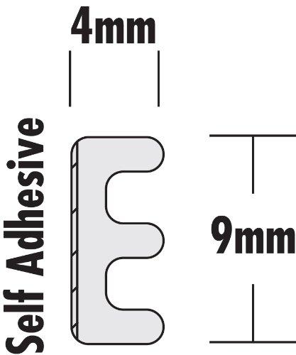 Stormguard - Burlete adhesivo con contorno en E: Amazon.es: Bricolaje y herramientas
