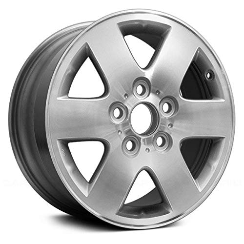 (Replacement 6 Spokes Machined and Silver Factory Alloy Wheel Fits Toyota Avalon)