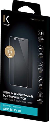 Protection d'écran en verre trempé pour Wiko Selfy 4G, Transparent