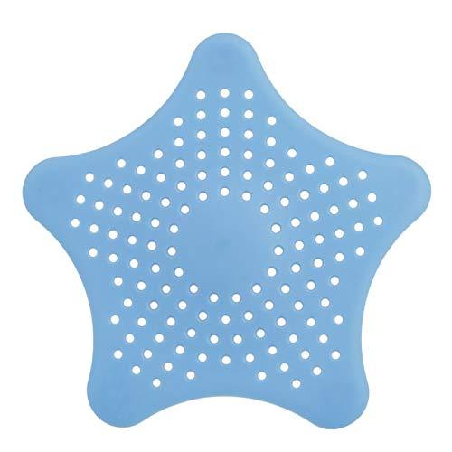 Appearancnes Star Shape Plastic Kitchen Mint Plan Bath Shower Drain Cover Waste Sink Strainer Hair Filter Catcher House Gadgets Basket