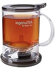 إبريق الشاي ثنائي الأسفل من أداغيو تيز إنجنيوتيا من شركة أداغو، 473 مل