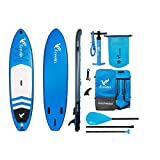 """Freein Explorer Inflatable Stand Up Paddle Board Double Layer Light SUP 10'2"""" Long"""