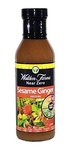Walden Farms Salad Dressing, Sesame Ginger - 12 Fl. Oz. (Sesame Ginger Dressing)