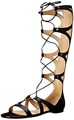 Amazon.com | Ivanka Trump Women's Camila Gladiator Sandal | Flats