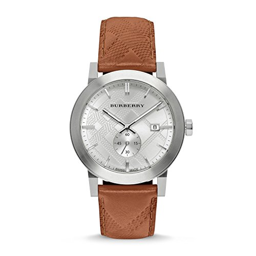 Burberry-Mens-Swiss-Chronograph-The-City-Brown-Leather-Strap-Timepiece-42mm-BU9904