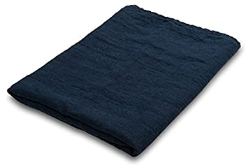 Europa 100% lino - toalla de baño, color azul: Amazon.es: Hogar