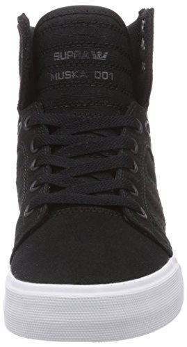 White Supra Sneakers Blk Black Low Unisex Top Black Adults 0wxRT0rqa