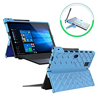 Gumdrop Droptech Case Designed for Dell Latitude 5290 2-in-1 and Latitude 5285 2-in-1 Laptop for Commercial, Business and Office Essentials - Black, Shock Absorbing, Rugged, Extreme Drop Protection