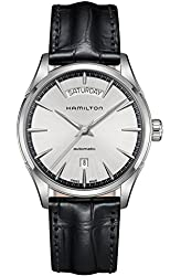 Hamilton Silver Dial Stainless Steel Leather Automatic Men's Watch H42565751