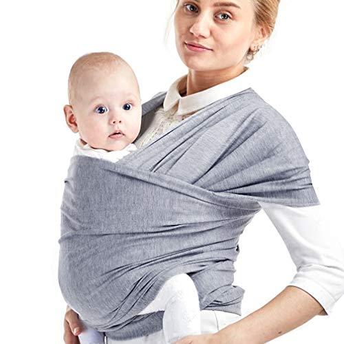 Phiraggit babydraagdoek kinderdraagdoek, ademend draagdoek, unisex babydrage, koala-knuffelband, babydrage voor…