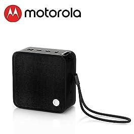 MOTOROLA Sonic Boost 210 Portable Wireless Smart Speaker 4.1 Bluetooth Speaker 4 Hours Battery Life Loud Extra Bass…