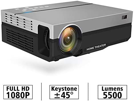 JUAN Proyector, proyector portátil con 4500 Lux y 1080p Full HD ...