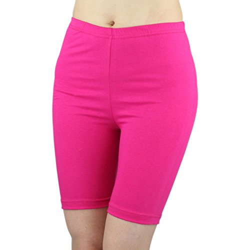 8450dbc9d15cdb ELEGANCE LADIES CYCLING SHORTS LYCRA STRETCHY COTTON ABOVE KNEE ACTIVE SPORT  EVERYDAY SHORT LEGGING(GIFT) - Buy Online in UAE. | Clothing Products in  the ...