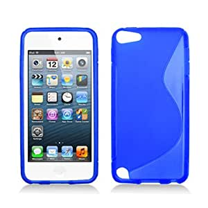 FOR APPLE IPOD TOUCH 5 TAI CHI/S LINE TPU , BLUE
