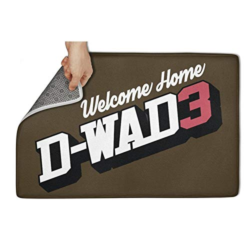 Marinas Indoor/Outdoor D-Wade Doormat Non Slip,23.5