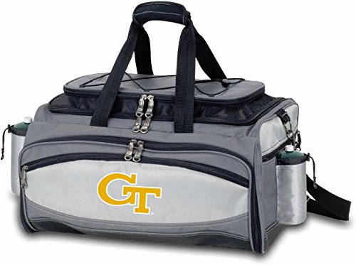 Picnic Time Vulcan Georgia Tech Yellow Jackets Embroidered NCAA BBQ Grill