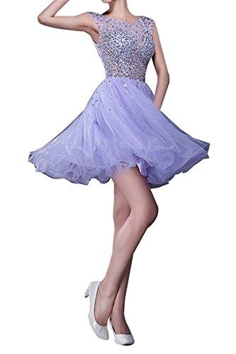Tanzenkleider A mia Steine Abendkleider Rock Linie Festlichkleider Cocktailkleider La Kurzes Lilac Partykleider Braut Heimkehr 8vqdcwF