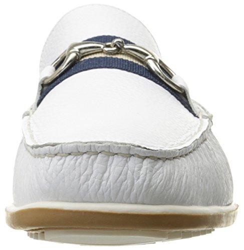 Giorgio Brutini Heren Helmstok Instappers Loafer Wit
