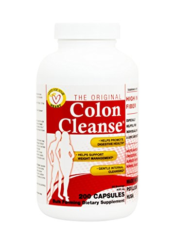 Health Plus Colon Cleanse 625 Mg, Regular Capsules, 200 Count