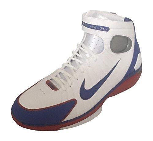 Nike Mens Air Zoom Huarache 2K4 White/Red/Metalic Silver 308475-100 (SIZE: - Womens Zoom Huarache Nike