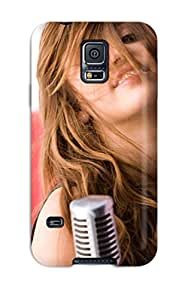 Fashion Case Cover For Galaxy S5(miley Cyrus Crazy Looks) 7153291K37925480