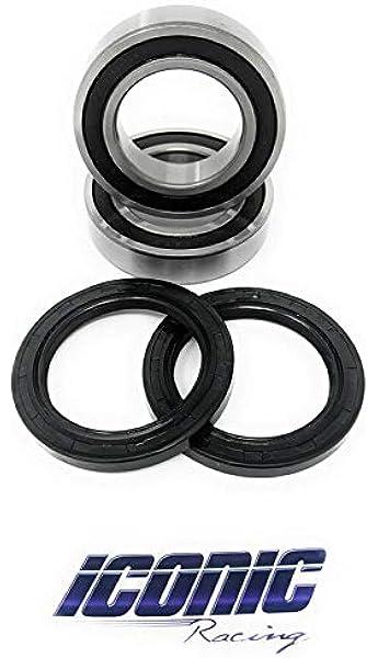 Front Wheel Ball Bearing And Seals Kit for Kawasaki Mojave 250 KSF250 87-04