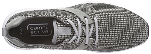 camel active Rush 11 Herren Sneakers Grau (Lt.Grey)
