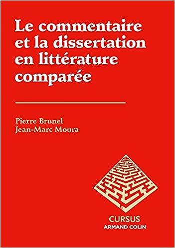 En ligne Le commentaire et la dissertation en littérature comparée pdf, epub ebook